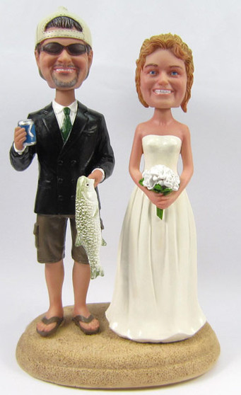 Fisherman Groom w/ Mix & Match Bride Style