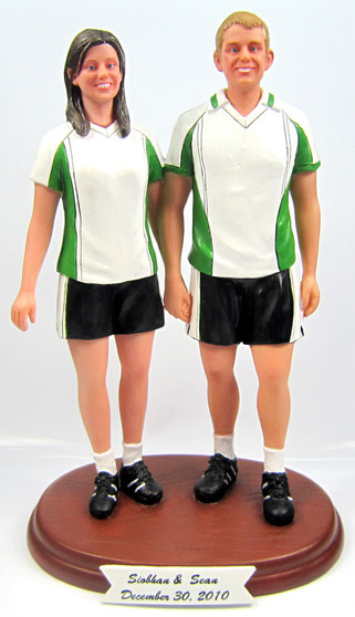 Soccer Football Player Cake Topper