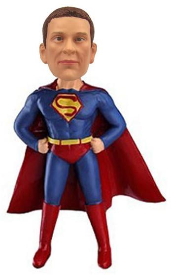Real Peeps Cake Topper Male #21 - Superman/Superhero