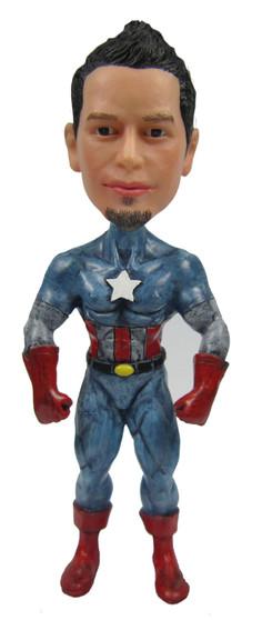 Real Peeps Cake Topper Male #24 - Captain America