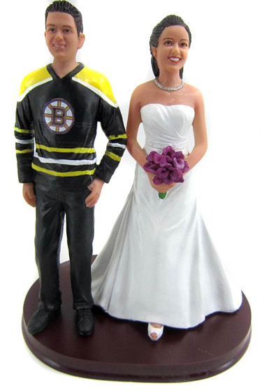 Hockey style groom with interchangeable bride.