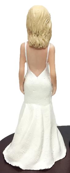 Mea Bride Cake Topper Figurine
