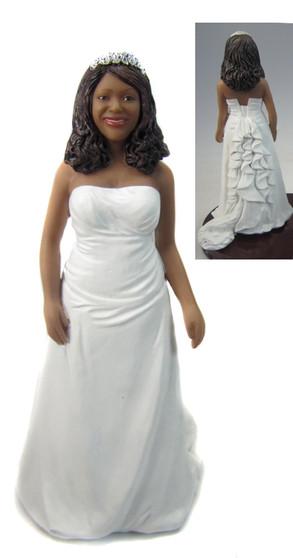 Jacqueline Full figurined Bride Style