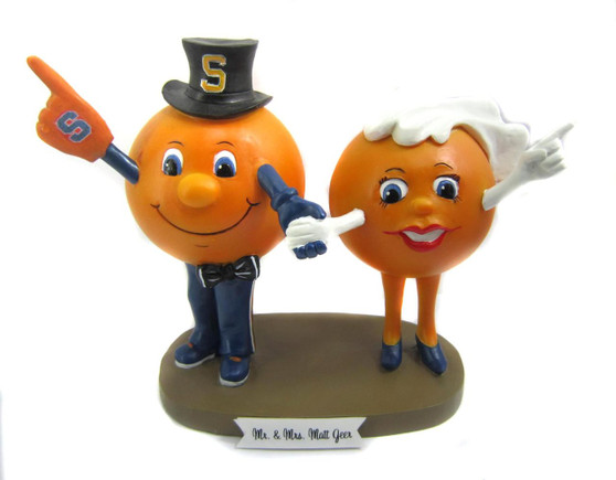 Custom Mascot Wedding Cake Topper