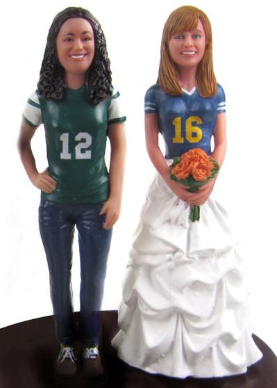 Custom LGBTQ+ Brides Sports Topper