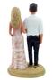 Custom Arm in Arm Beach Wedding Cake Toppers