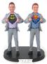 Superhero Grooms Wedding Cake Topper