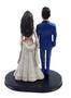 Custom Lovely Indian Bride Wedding Cake Topper