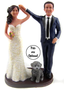 Custom Will You Dance With Me? Cake Topper