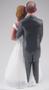 Custom Belle of the Ball Wedding Cake Topper Style