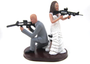 Custom Movie Mr. and Mrs. Smith Armed Couple Wedding Cake Topper Style