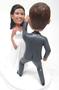 Custom Dancing Couple Wedding Cake Topper