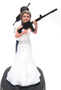 Custom Mr. and Mrs. Smith Cake Toppers Style 4 sculpted wedding cake top