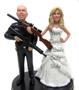 Police Officer Groom Figurine