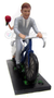 Bicycle built for two wedding cake topper