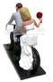 Cycling wedding cake toppers