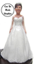 Heather Bride Cake Topper Figurine