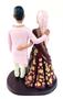 Custom Elegant Indian Wedding Cake Topper