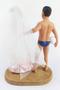 Custom Volleyball Groom w/ Mix & Match Bride Wedding Cake Topper