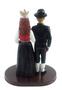 Custom Norwegian National Attire Wedding Cake Topper