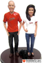 Orioles fans wedding cake toppers