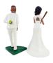 Custom Pitching Baseball Wedding Cake Topper