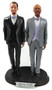 Set of Mix & Match LGBTQ+ Classic Grooms Wedding Cake Toppers