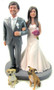 Daisy Couple Wedding Cake Topper - Sample 2
