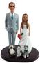 Custom Set of Mix & Match Classic Wedding Cake Toppers