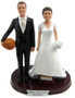 Short Bride and Tall Groom Wedding Cake Topper