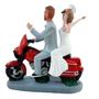 Custom Harley Couple Wedding Cake Topper