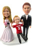 Wedding Cake Topper with Little Boy