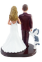 Custom Charming Couple Wedding Cake Topper