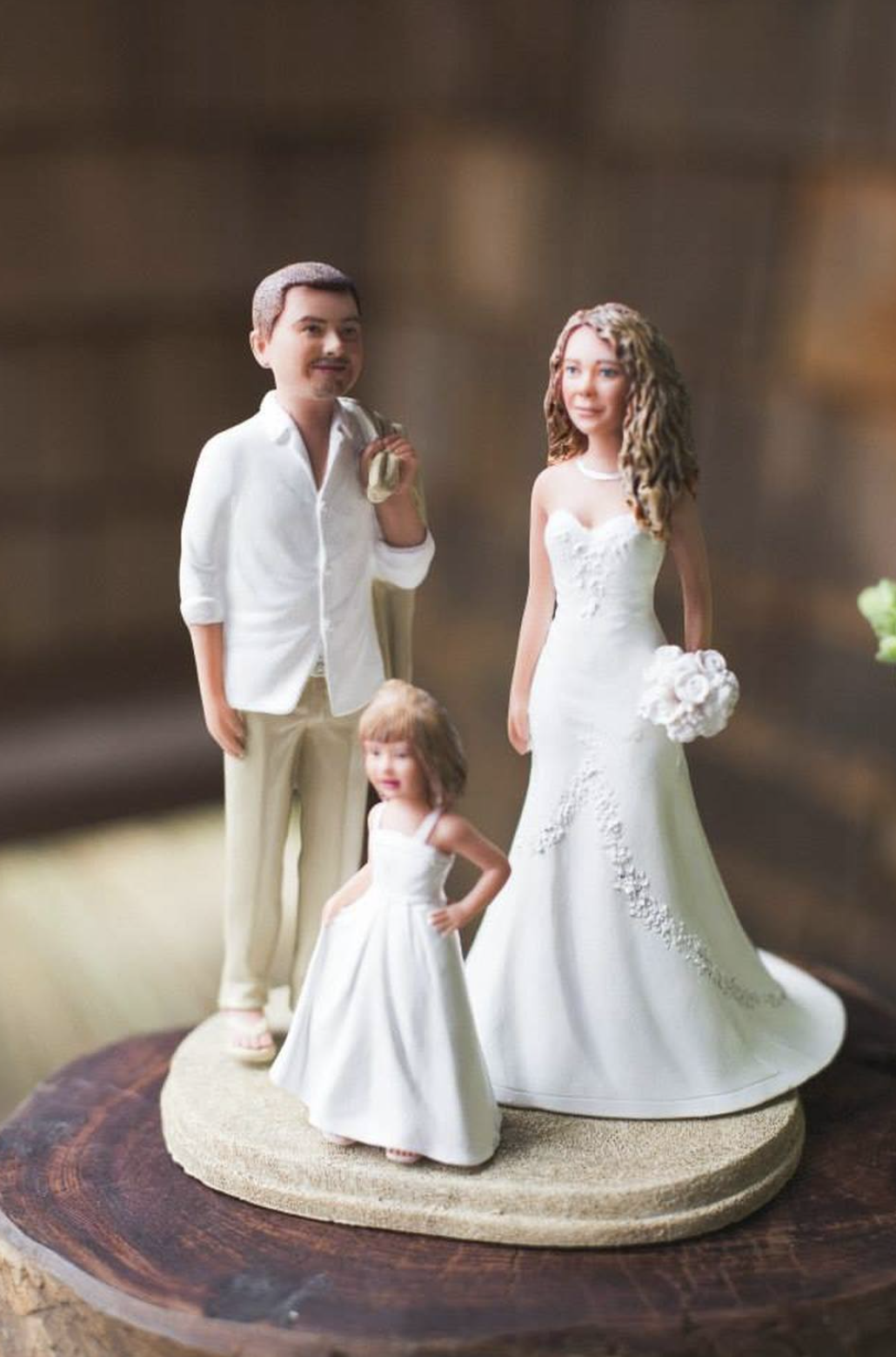 Wedding Cake Toppers with Children