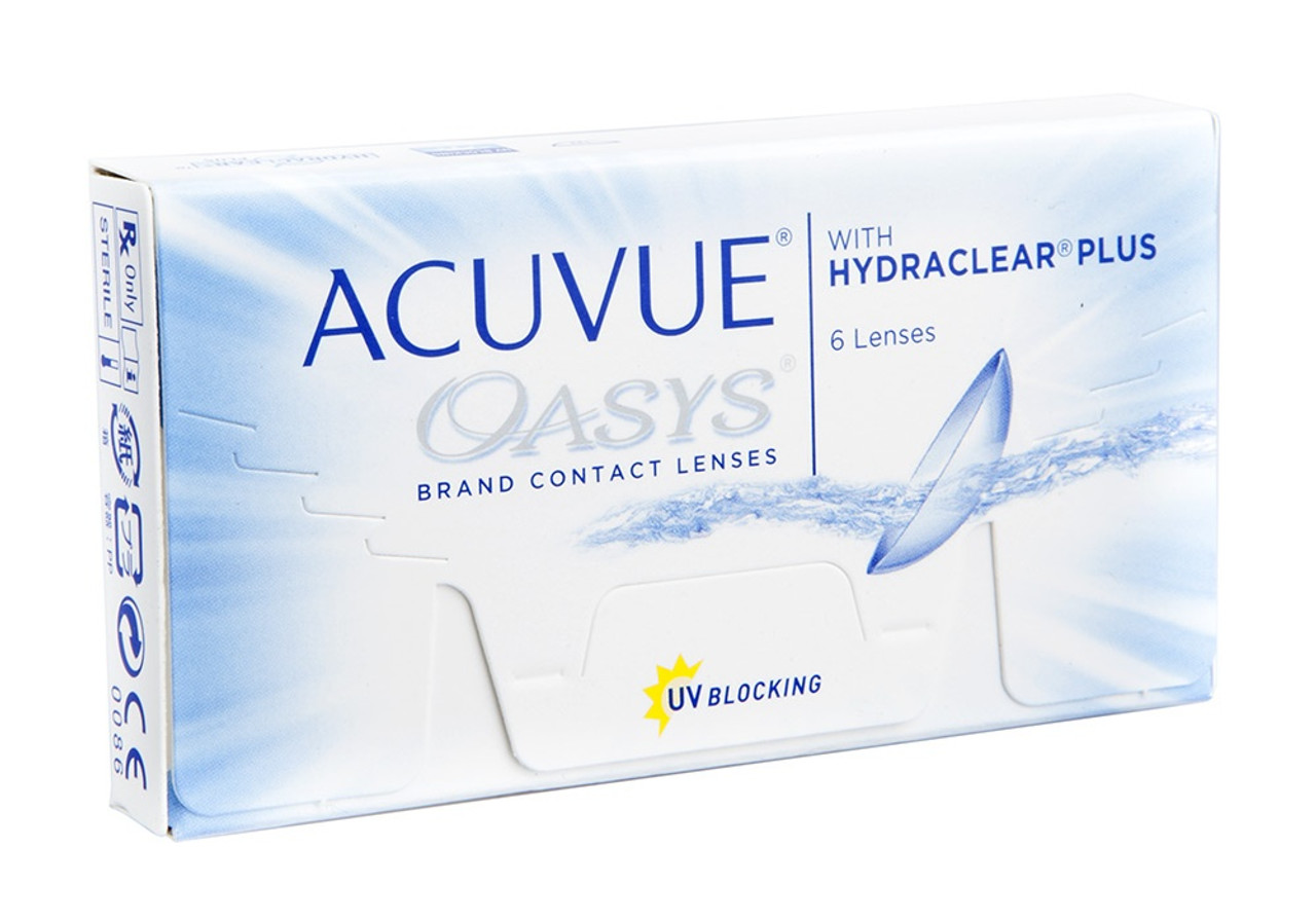 Johnson and Johnson Contact Lenses. Acuvue Oasys daebc0437a