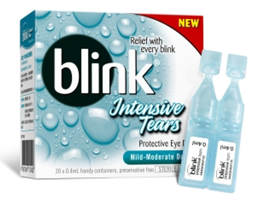 Blink Intensive Tears Capsules Front