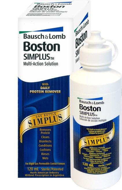 Boston Simplus Multi-Action Solution Front
