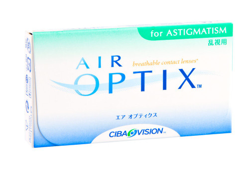 Air Optix Aqua for Astigmatism - 6 Pack Front