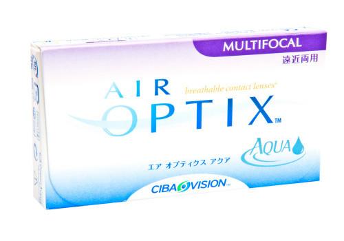 Air Optix Aqua Multifocal - 6 Pack Front