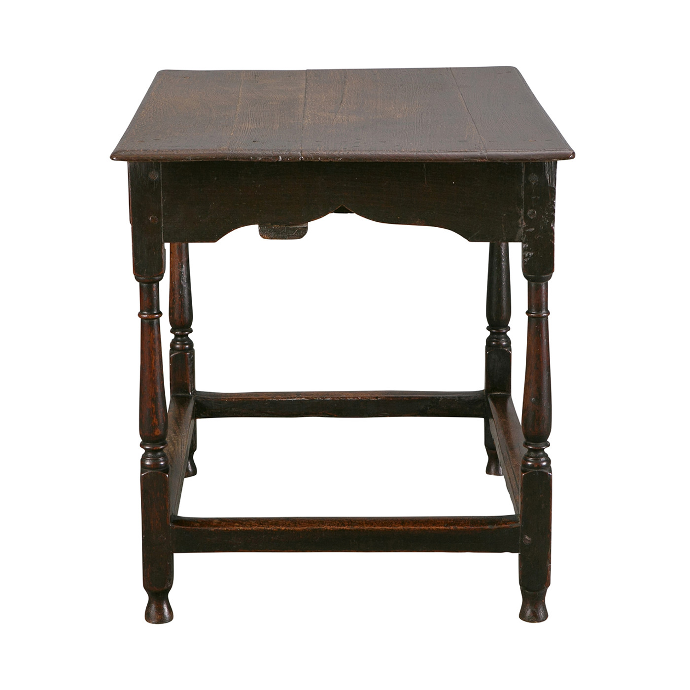 English Oak Table, late 17th c.