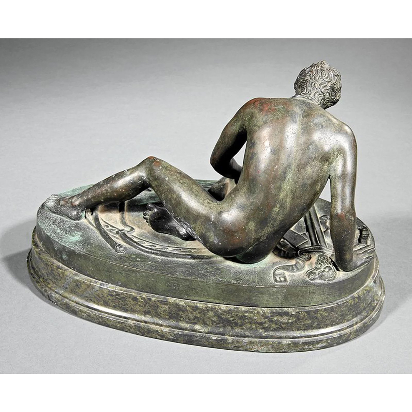 Bronze Statue - Dying Gaul, 19th c.