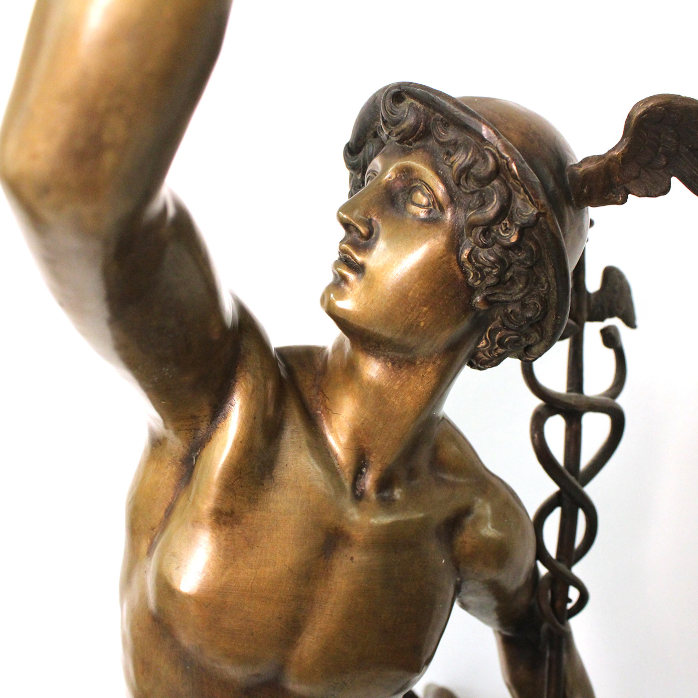 Bronze Sculpture of Mercury/Hermes, 19th c.