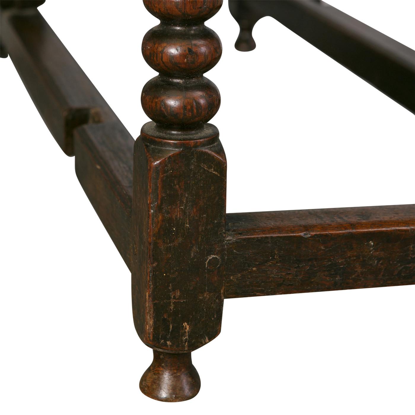 English Gateleg Table, Late 18th c.