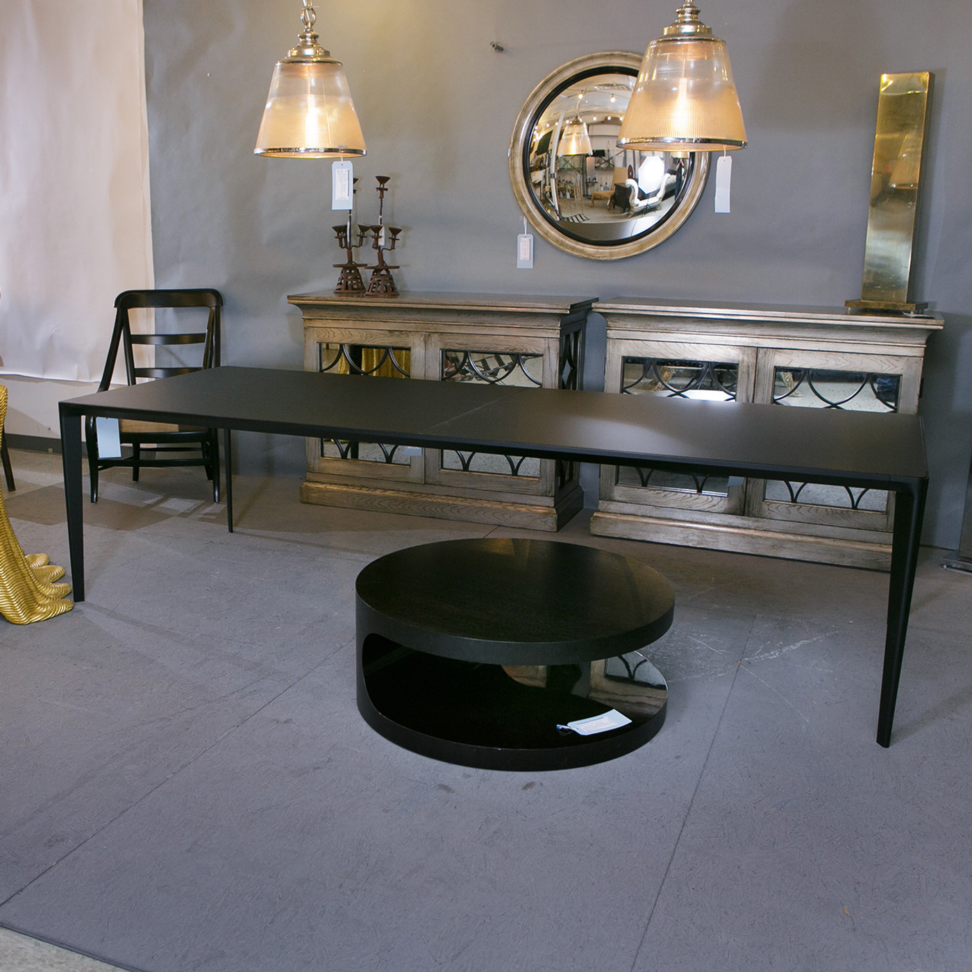 Shadow Dining Table by Holly Hunt