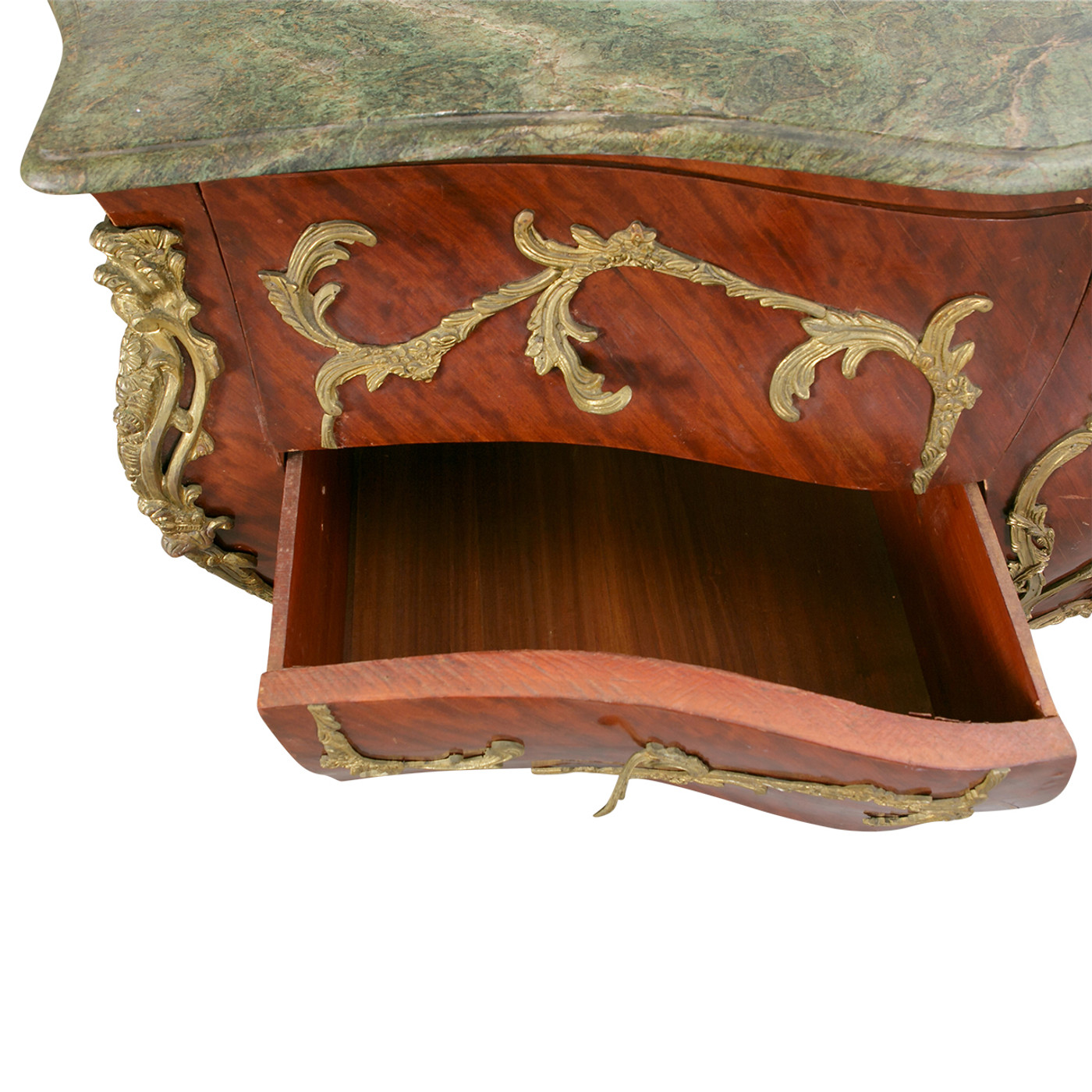 Louis XV Syle Commode with Ormulu & Mable Top