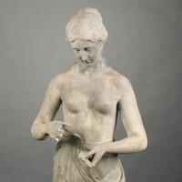 Carved Marble Statue of Venus, 19th c.