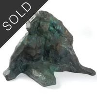Statue of Abstract Bronze Figure