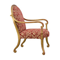 Verona Arm Chair by Rose Tarlow-Melrose House #2