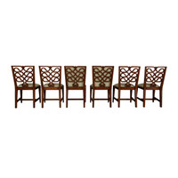 Ribbon Back Side Chairs - S/6