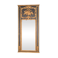 Antique Italian Trumeau Mirror